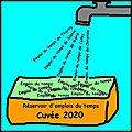 Réservoir d'emplois du temps - cuvée 2020 !