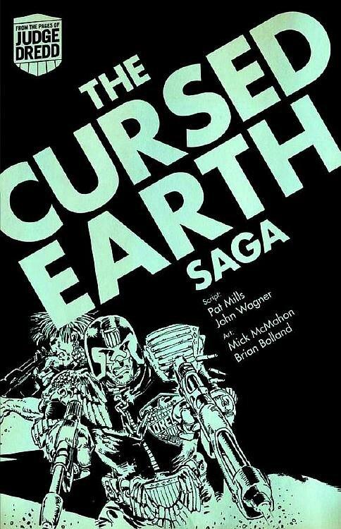 judge dredd the cursed earth saga TP digest