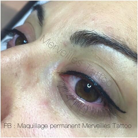 Yeux de biche. Maquillage permanent by Vanessa