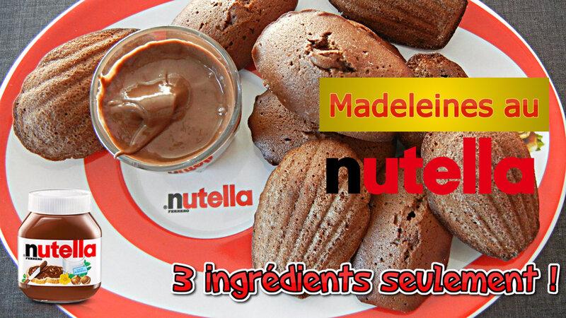 vignette madeleines nutella prunille