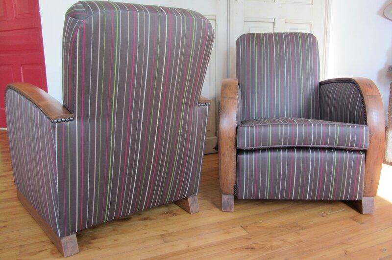 fauteuils à retapisser Brest