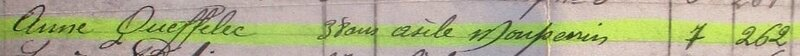 1941 mars journal du cimetière St-Pierre extract