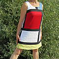 Ma robe mondrian copier-coller