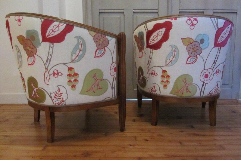 paire de fauteuils tapissier à Quimper