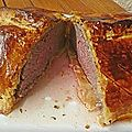 ✩ rôti de bœuf en croûte à la rossini, forestière, etc