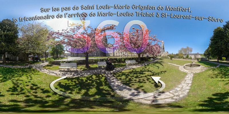 Sur les pas de Saint Louis-Marie Grignion de Montfort, le tricentenaire de l'arrivée de Marie-Louise Trichet à St-Laurent-sur-Sèvre