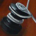 Voilier bois - détail winch