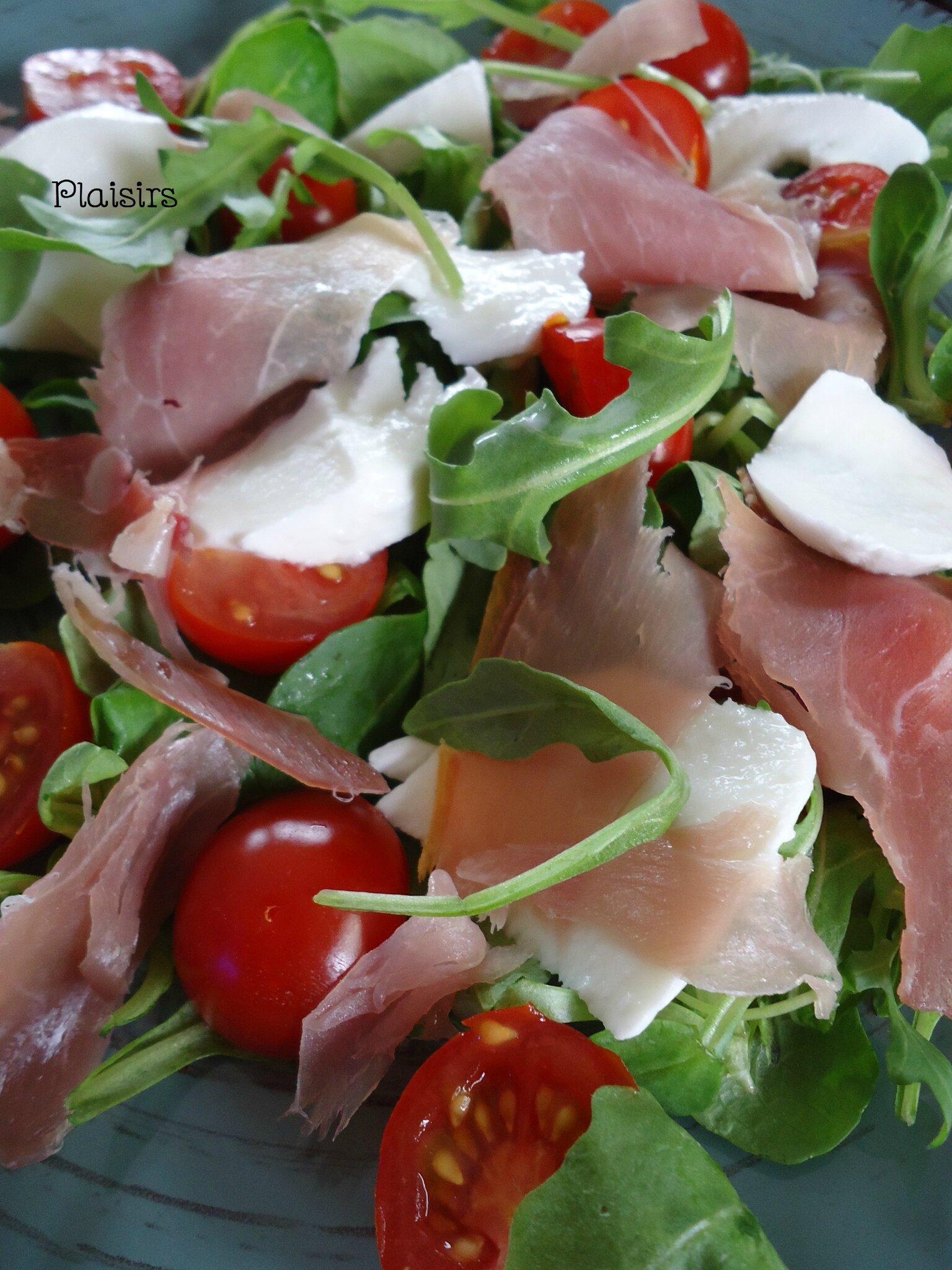salade roquette tomate mozza (1)