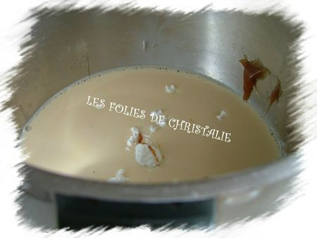 Crème façon Montblanc caramel 2