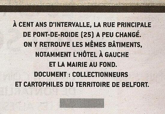 2018 11 18 Hier Aujourd hui Pont de Roide Le Mag ER R