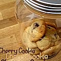 Cookies moelleux à la cerise