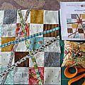 Quilt mystère cotton&color : bloc n°3