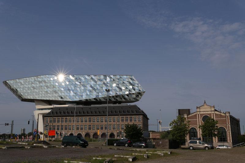 Le vaisseau amiral du port d'Anvers