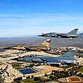 Avion Militaires survolants l'Académie royale militaire de Méknès