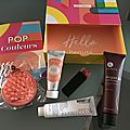 Box birchbox d'avril