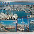 Cap d'Agde - le port datée 1998