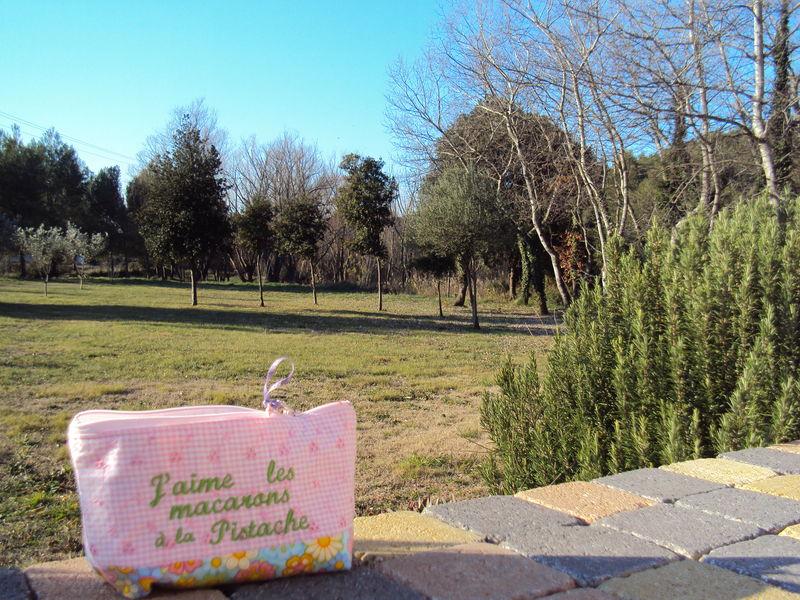 Dans le jardin de Marie-Paule en Provence à Saint-Mitre les Remparts .