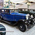 Ballot rh3 berline de 1930 (cité de l'automobile collection schlumpf à mulhouse)