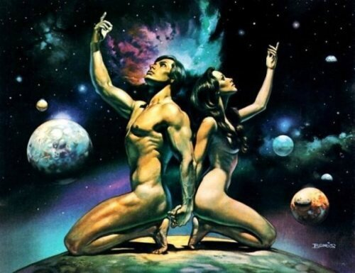 cosmos-earth-man-man-and-woman-new-age-Favim