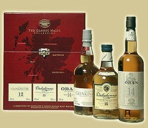 Coffret The classic malts collection