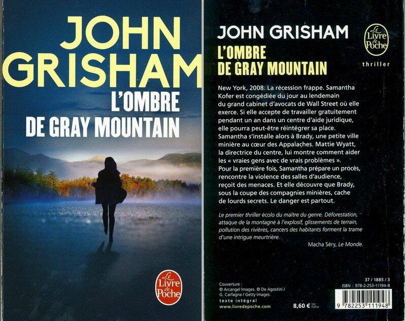 1 - l'ombre de Gray Mountain - John Grisham