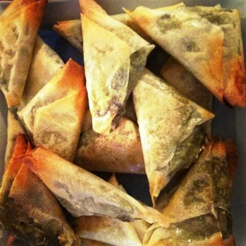 Samosas épinards/feta ©Kid Friendly