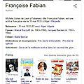 Françoise fabian la nuit