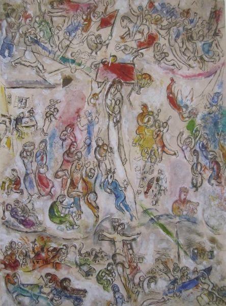 Esquisse pour la Vie 1964 Chagall