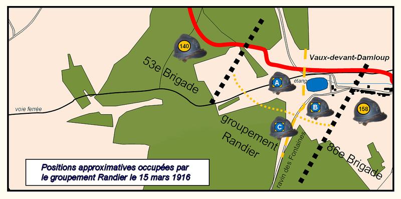 Carte_position_groupe_Randier_journee_du_15_mars_1916