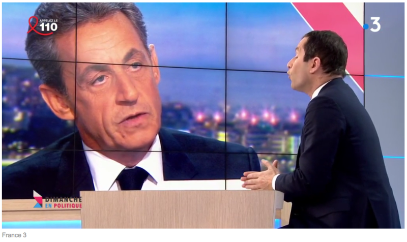 SARKOZY HAMON MEDIA DIXIT WORLD
