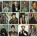 Cézanne, portraits en série