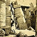 Voyage en terre sainte , georges legrain archéologue,karnak,mosquee sainte sophie,haiffa