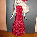 Barbie en tenue de soirée