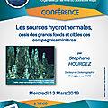 Conférence du 13 mars 2019