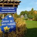 Le jardin du bois marquis à l'automne...
