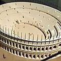 Maquette de l'amphithéâtre