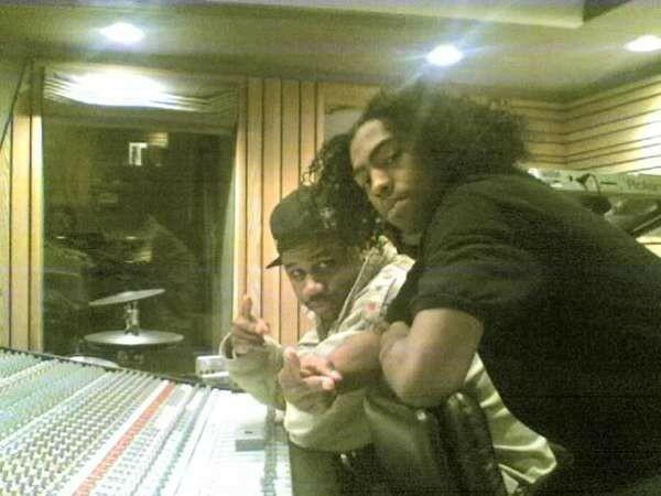 Rob in the studio