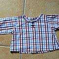1 er ensemble couture tricot pour mon bébé chou