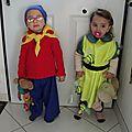 Des déguisements pour leur 1er carnaval !!
