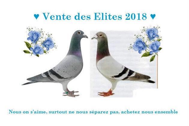Vente des Elites 2018