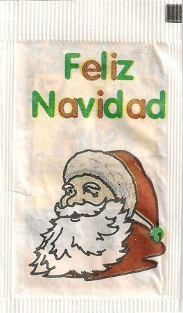 Emballage de sucre Père-Noël 03