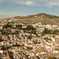 Grenade, depuis l'Alhambra