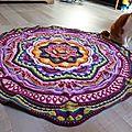 Mandala 12 relief