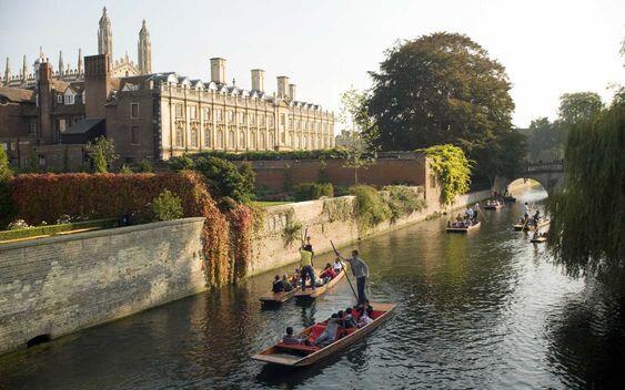 Cambridge, en Angleterre