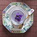 Yaourt à la violette