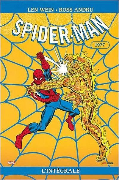 intégrale spiderman 1977