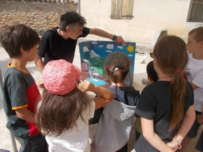 atelier science cycle de l'eau