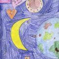 Moi j'irai dans la lune vu par Mélina