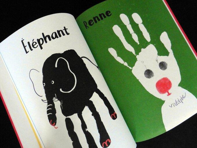 empreinte livre éléphant
