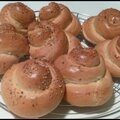 Petits pains spirale